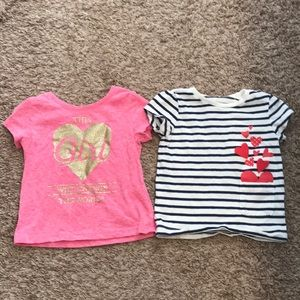 🎉3 for $20🎉 Girls 12-18 months shirts